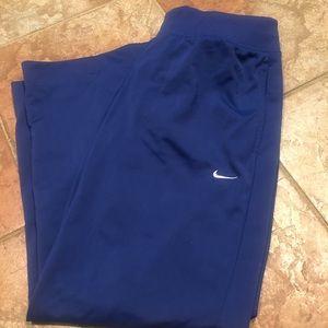 Nike workout lounge track pants